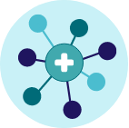 health cross connected nodes