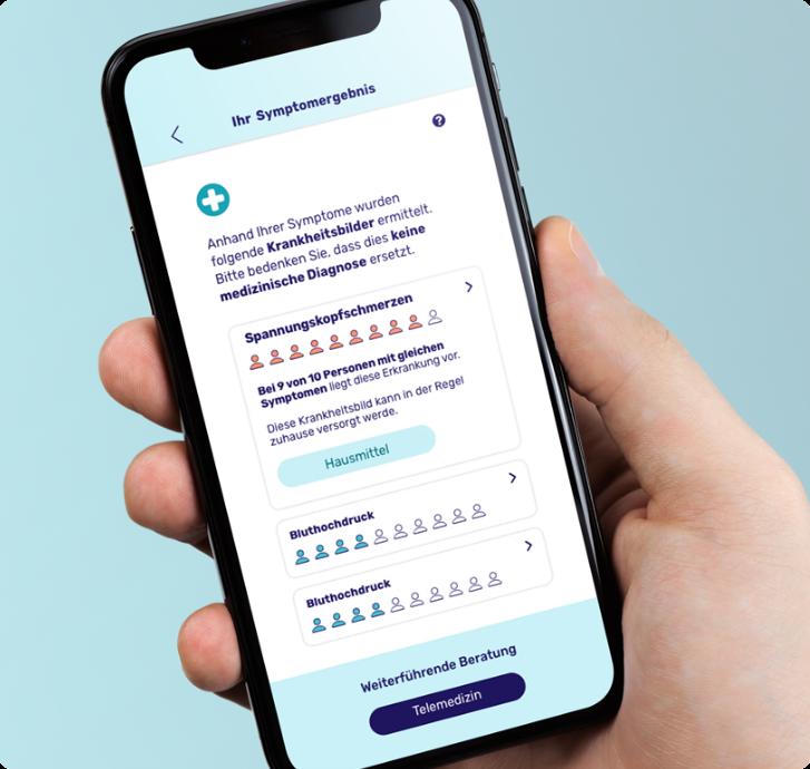 smartphone webapp open diagnosis card